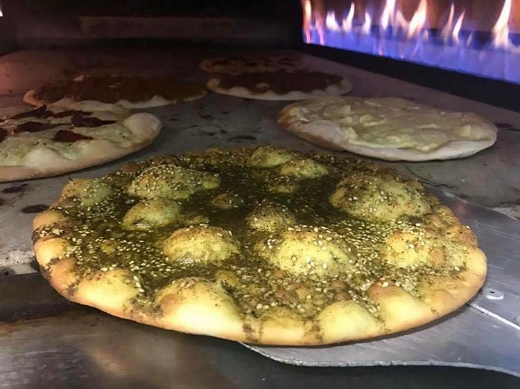 Look what's baking.. right now I wish I could share with all of you in... (Comptoir Libanais)