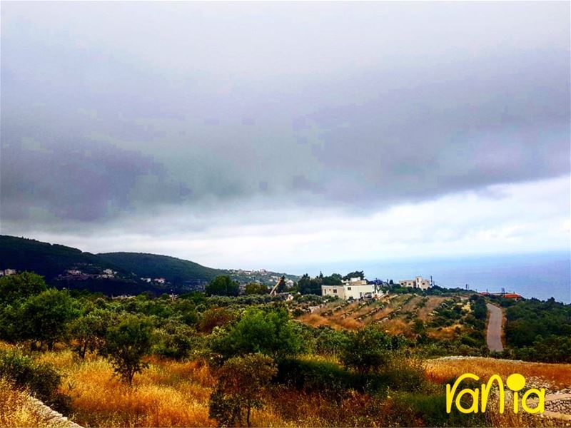 rachana  cloudyday  lebanesemountains  springtime  enjoyingtheview ... (Basbous Museum - Rachana)