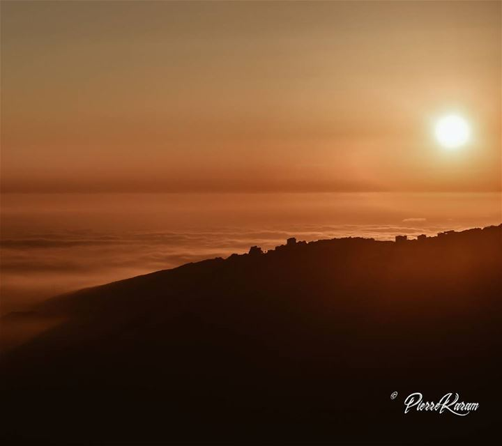 over the  clouds  sunset.. lebanesephotographer  lebanese  instago ...