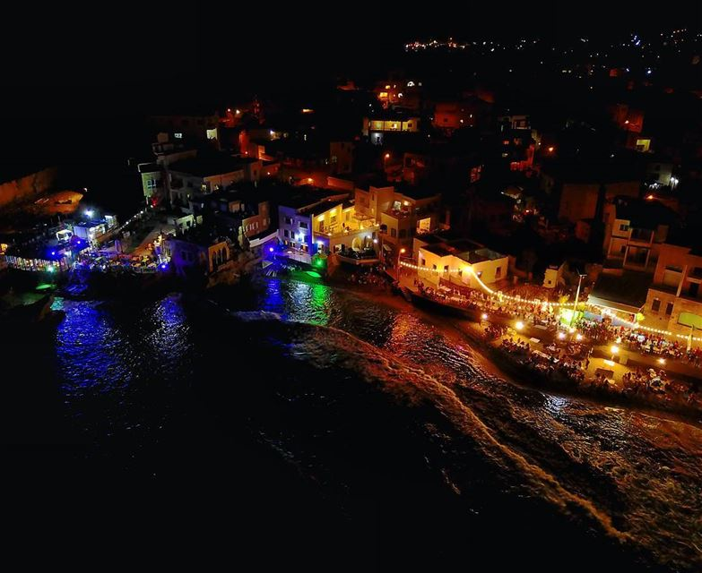 The days get hotter ♨ & the nights get longer 🤘🏻 drone  batroun ... (RAY's Batroun)