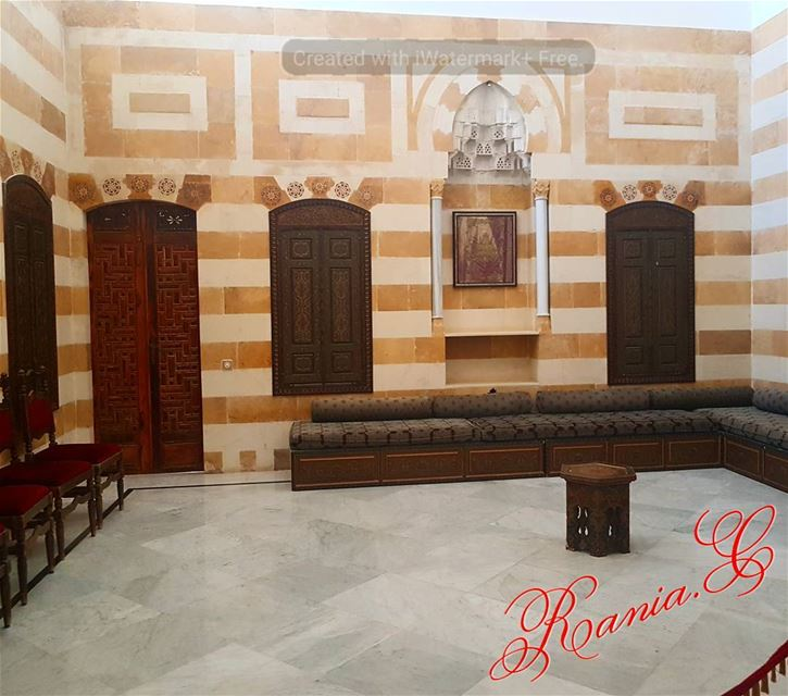 beiteddine  lebanon  beiruting  reception  arabicreception  arabicsalon ... (Beiteddine Palace)