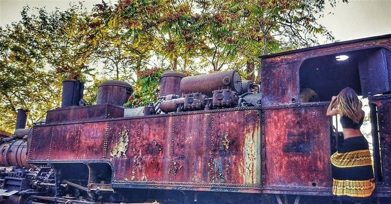 Our dear old train....... train  railwaylebanon  history  railway ...