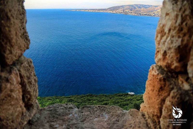 Beautiful sea view !!!........ livelovelebanon  livelovebeirut ... (Hamâte, Liban-Nord, Lebanon)