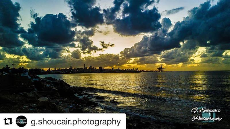Repost @g.shoucair.photography (@get_repost)・・・Our beloved Beirut...