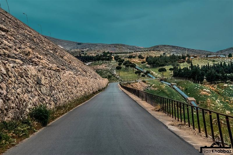 It's a long  road but it can be done sooner or later.  naturephotography ... (El Qaraoun, Béqaa, Lebanon)