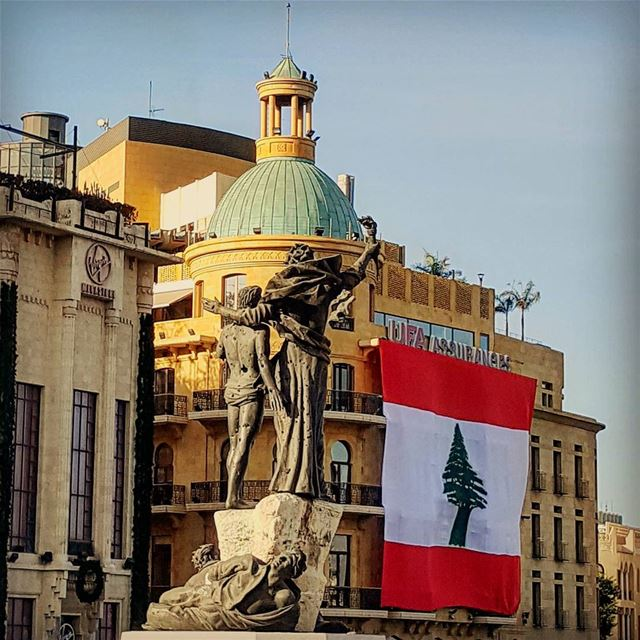 No Occasion.. No Event should remind us to love our country..🇱🇧 .. 📸... (Downtown Beirut)