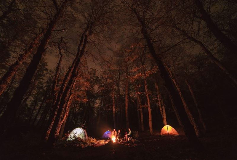 Go wild,For a while⛺.... camping camp adventure nightphotography... (Al Fnaydiq, Liban-Nord, Lebanon)