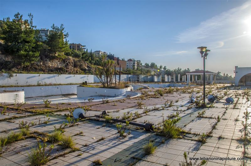 An Abandonned Resort in Kesrouane (Safra, Lebanon)