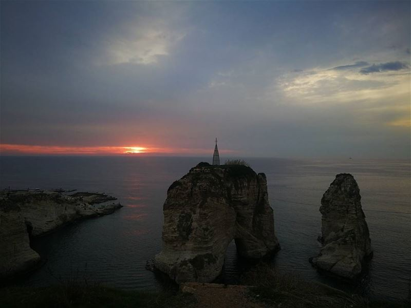 Life is all about enjoying every sunset and looking forward for the next... (Beirut- Al Rawsheh)