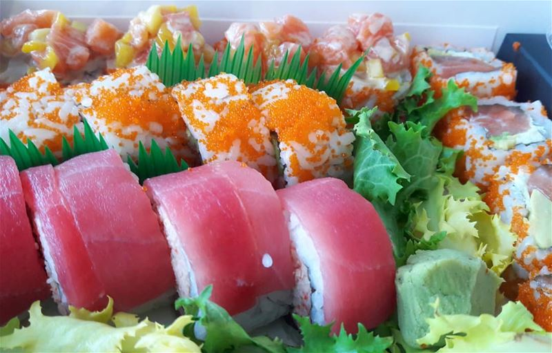 Sushi time 🍣🍣🍣  Lunch  SushiTime  Sushi  SushiLover  SushiStar ... (Centre National des Sciences Marines)