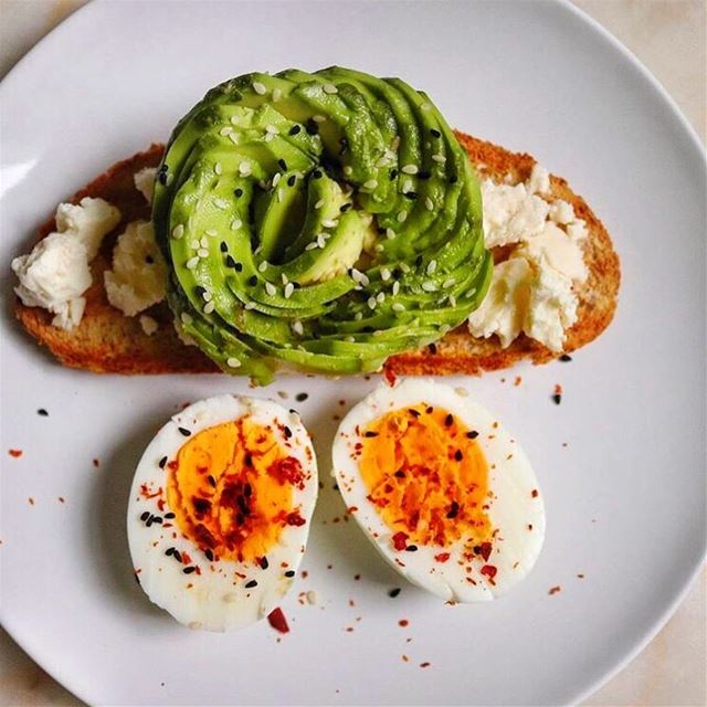 May your week be filled with postive energy & avocado toasts 🎈🥑... (Paris, France)