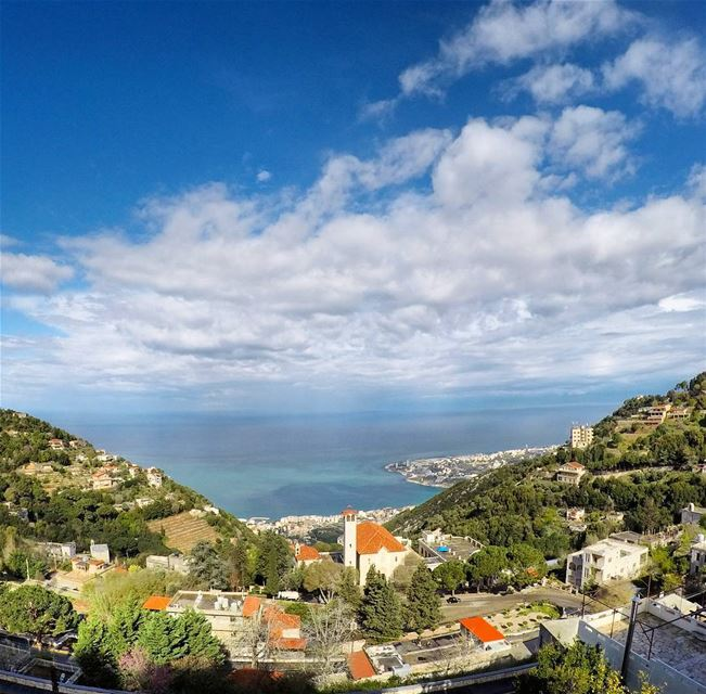 No winter lasts forever 🍃No spring skips its turn!.. goprohero5 ... (Ghosta, Mont-Liban, Lebanon)