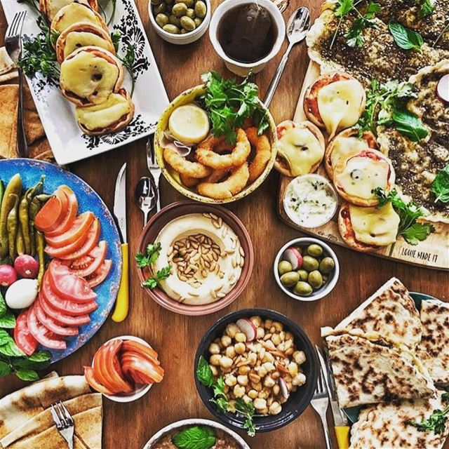 Lebanese dinner.  travel  lebanon  tourism  food ...