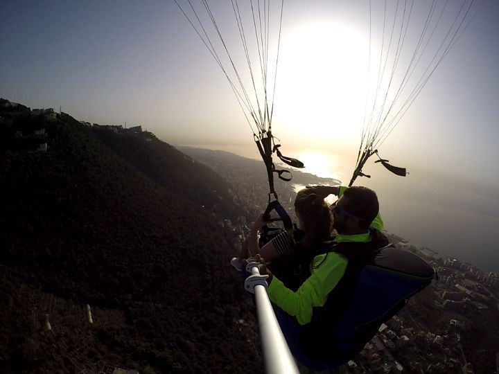 view  sky  sun  smile  relax  music  paragliding  fly  harissa  jounieh ...