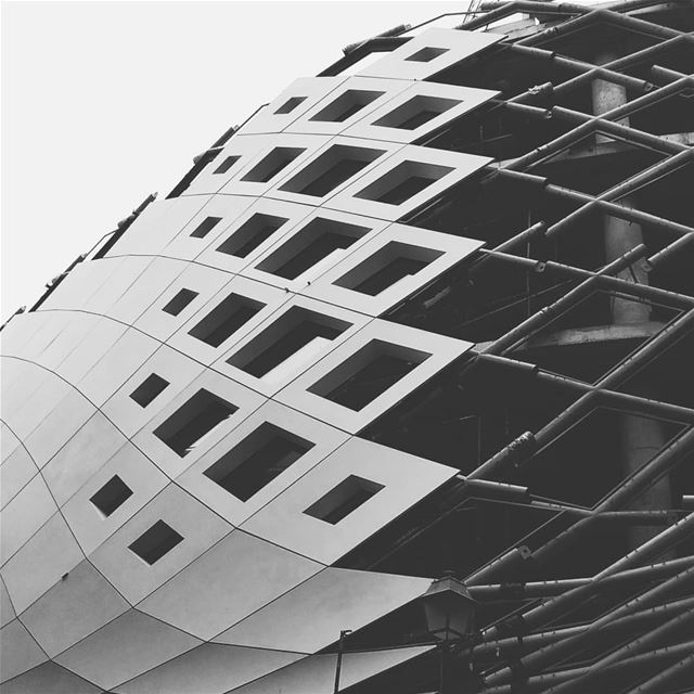 """We shape our buildings; thereafter they shape us"".. jj_geometry  zaha ... (Beirut Souks)"