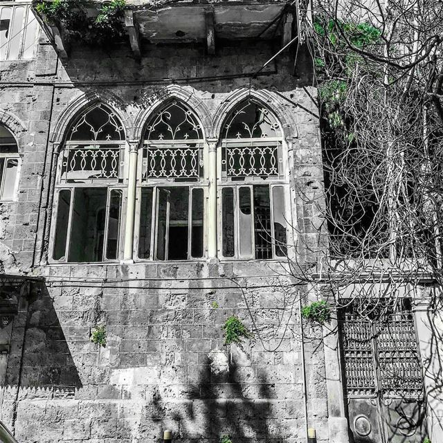 In love with the Lebanese architecture 💚.. lebanon  beirut  lebanese ...
