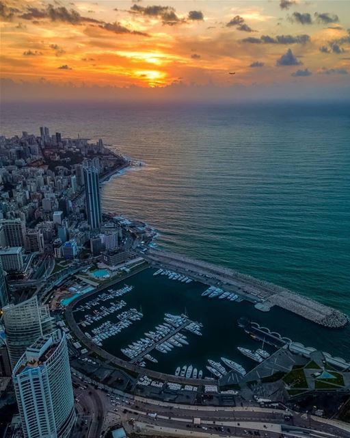 Beirut was once considered as the Paris of the Middle East and a dream... (Zaitunay Bay)
