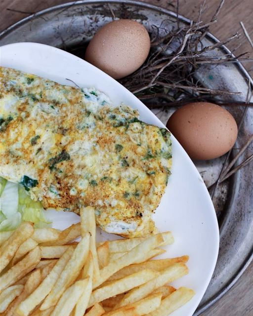 The  Omelette is a good idea 🤔💬  jalsat  restaurant  mayrouba  faraya ... (Jalsat)