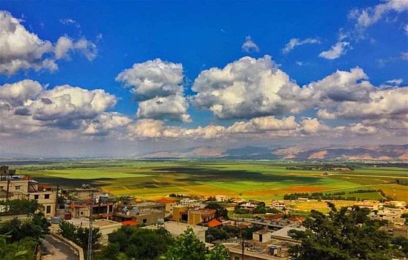 📲Turn ON Post Notifications 🌄Amazing view from  beqaa 📸Photo by @livelov (Aâna, Béqaa, Lebanon)