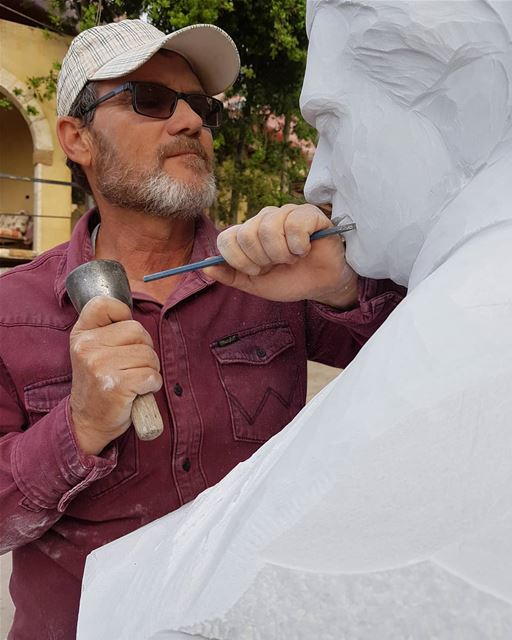 Work with Passion____ nayef_alwan  sculptor  artist  art  sculpture ... (Lebanon)