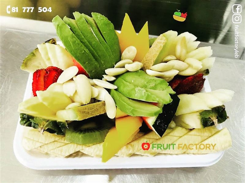 @fruitfactoryleb -  Treat Yourself to a Special Dessert 🍓🥝🍍🥑🍌Order... (Fruit Factory)