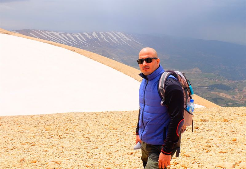 Hiking  Black Peak🏔 - the highest point in Lebanon 🇱🇧 and the Levant,... (Lebanon)