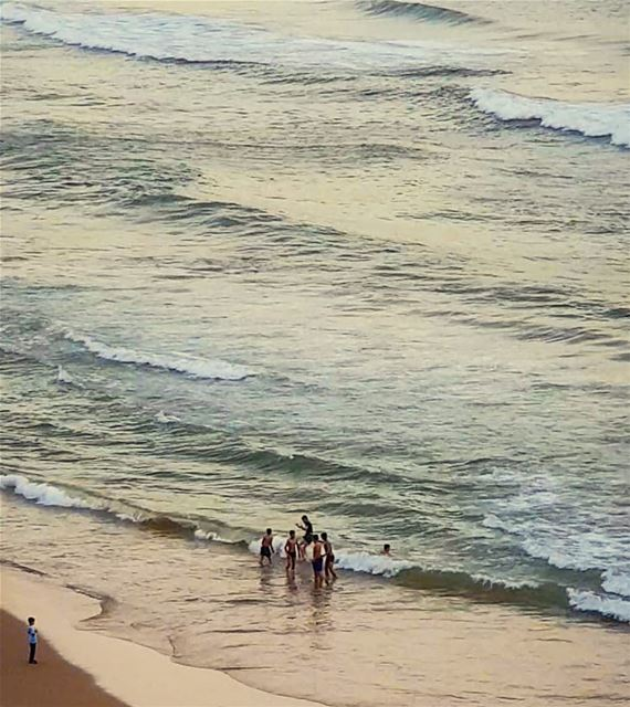 No matter how big their problems are..A small wave could wash out their... (Beirut, Lebanon)