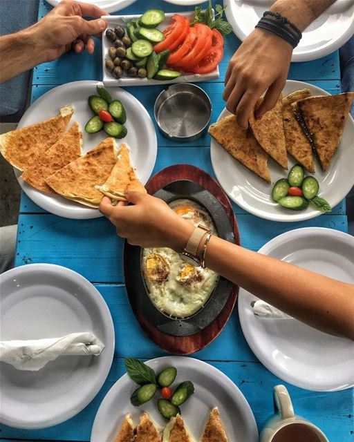 Ready for our Breakfast ? Photo taken by @peterghanime 😊 lebanon ... (RAY's Batroun)