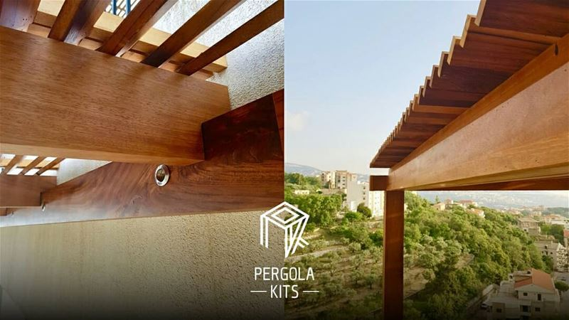 Into the Details Pergola Kits. PergolaKitsLebanon in Sheile.....