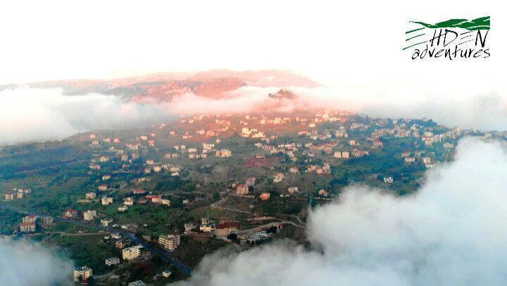 ehden  fog  sunset  Lebanon  northlebanon  mavicair  nature  travel ... (Ehden Adventures)