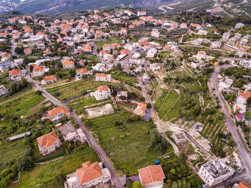 The North of Lebanon. Beauty from above  town  livelovebeirut ... (Douma, Liban-Nord, Lebanon)