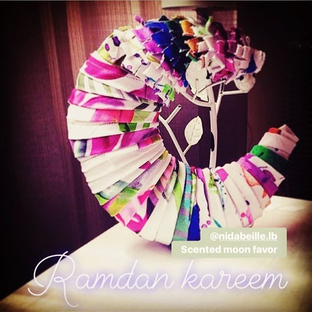 Ramadan Kareem 🌙Write it on fabric by nid d'abeille  ramadan  kareem ...