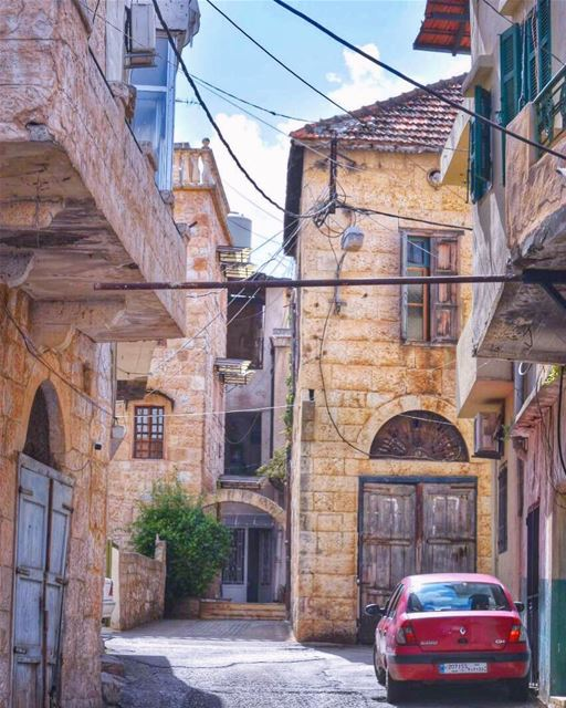 Our lovely childhood streetsWhere we played & ran with all our heartbeats... (Zgharta)