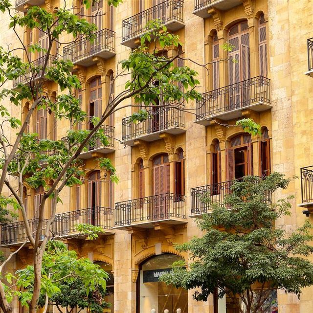 ...if a building becomes architecture, then it is art....(arne jacobsen).... (Downtown Beirut)