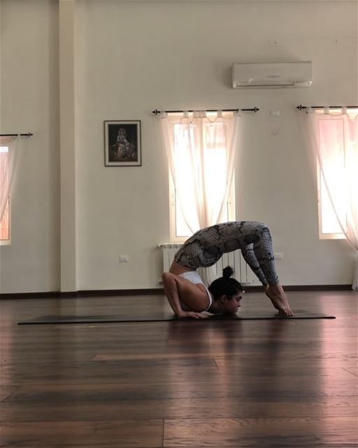 One minute from today's 2 hour practice. I like to take my time during... (Sarvam Yoga)