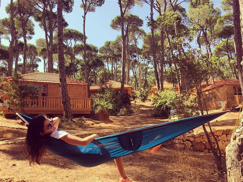 Life is better in a hammock 💛🏡🌞Photo credit goes to @kathyhomsi 📸👌😍...