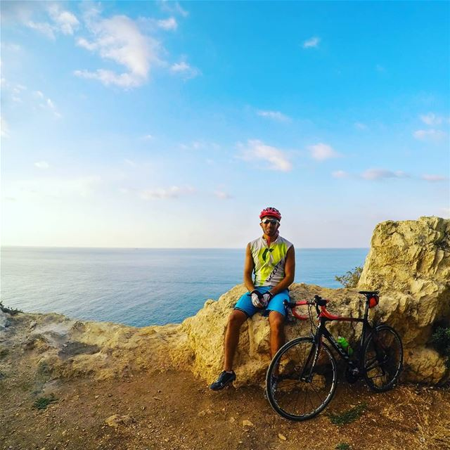 Afternoon ride 🚴‍♂️.  cycling  lebanon sea  scottbikes... (Batroûn)