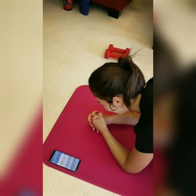 ✔️Plank Challenge - 1 minute 32 secondsI am proud of you Christiane!!!@ch (Lebanon)