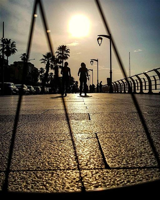 Never Trust Your Shadow..Because it stays always in the Dark.....🚲..... (Beirut, Lebanon)