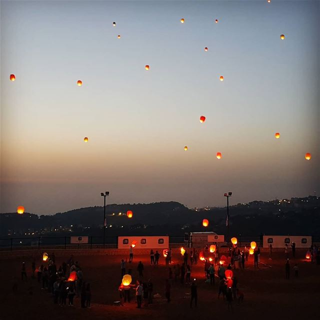 lantern  lanternfestival  lebanon  skyline  night  picoftheday  fun ...