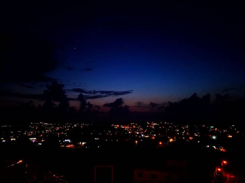 ⛰ 🌆 THE NIGHT VIEW BERKAYEL ✨ 🌙📷 1/6/2018 IN AKKAR LEBANON🔭 berkayel...