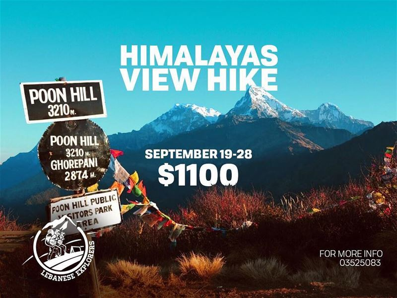 Dear hikers🚶🏻‍♂️,Are you ready for the hike of the year? We are making... (Poon hill trek Nepal)