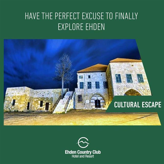 Stay at Ehden Country Club and have the perfect excuse to finally explore...