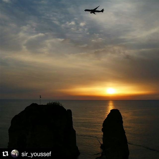 livehasbayalove Repost @sir_youssef ・・・Angry Sunset.. I honestly hate... (Beirut, Lebanon)