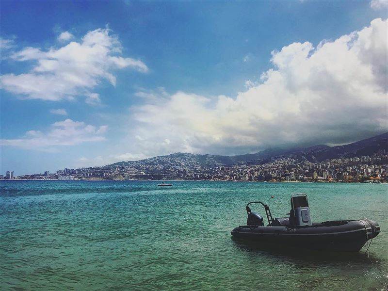Happiness comes in waves 🐬... lebanon  jounieh  beirut  followme ... (Jounieh)