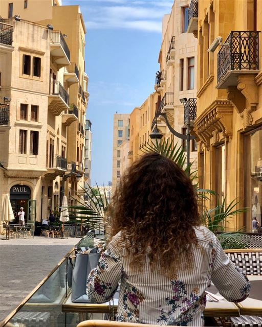 Downtown Beirut, always spick and span.  angelinabeirut @angelina_paris ... (Angelina Lebanon)