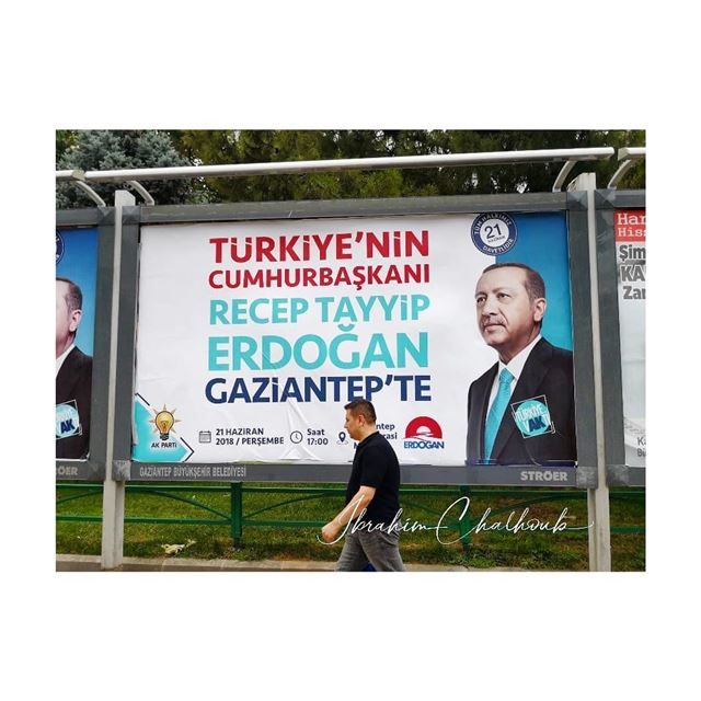 Elections on my way -  ichalhoub in  gaziantep  Turkey shooting with a...