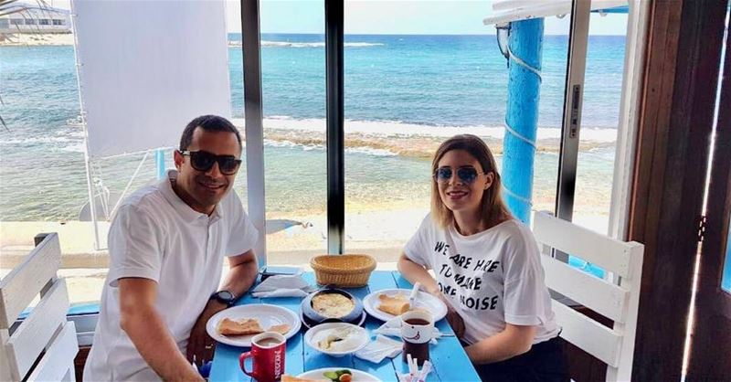 Nothing like a massive breakfast to start the day off right 😀Good... (RAY's Batroun)