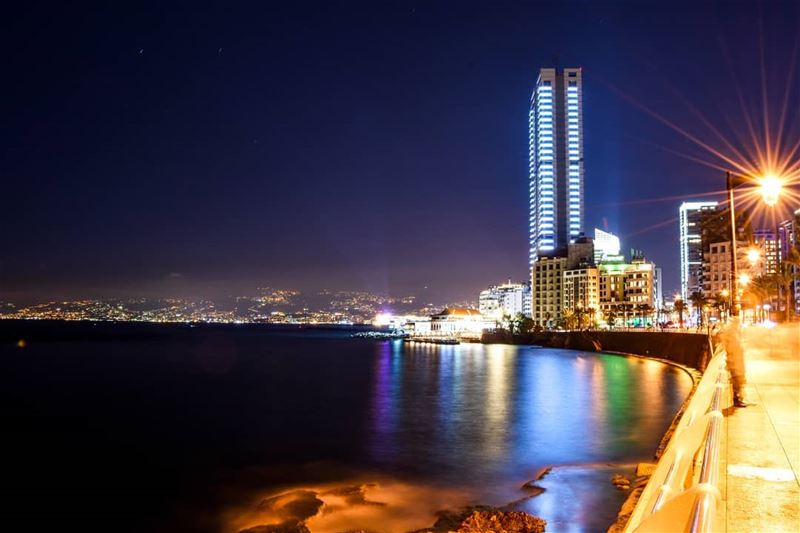 "The cool summer evenings of Beirut | 120"" Long exposure beirut  lebanon ... (Beirut, Lebanon)"