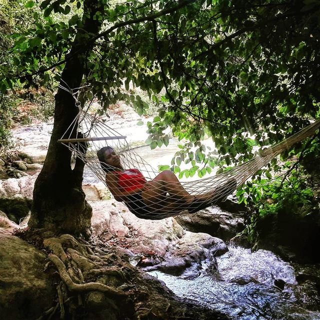 Lose yourself in  nature and find  peace... hammocklife  hammockrelaxing ...